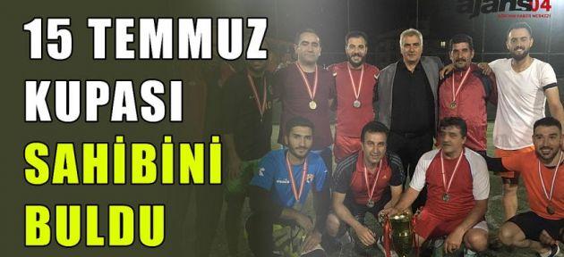 15 Temmuz Kupası, Şehit İlhan Varank'ın Adını Taşıyan Takımın Oldu