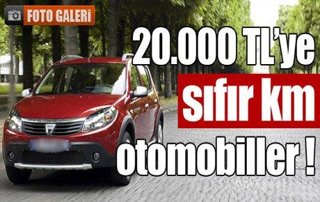 20000 Tl Ye 0 Km Otomobiller