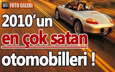 2010'un en çok satan otomobilleri!