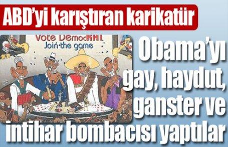 ABD'yi karıştıran karikatür