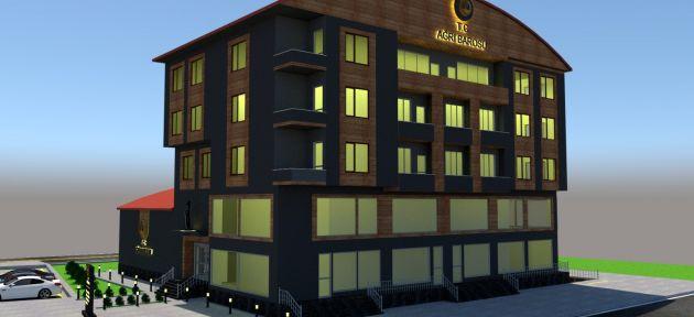 Ağrı Baro Başkanlığı İdari Binası Temeli Atıldı