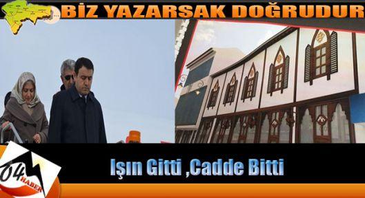 Ağrı Cumhuriyet Caddesi İhalesi İptal Edildi