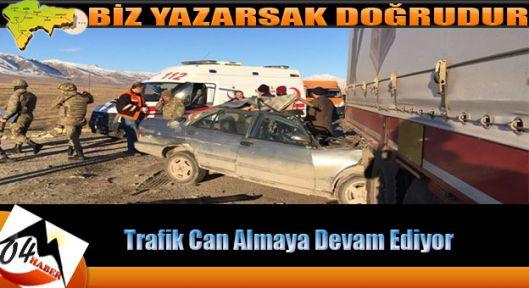Ağrı da Kaza 1 Ölü