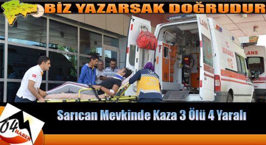 Ağrı da Trafik Can Aldı 3 Ölü,4 Yaralı
