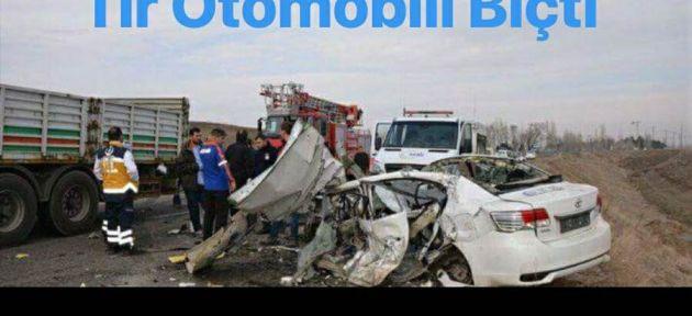 Ağrı da Trafik Kazası 4 Ölü