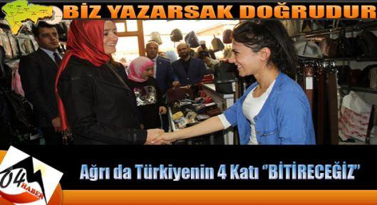 Ağrı da Türkiye'den 4 Kat Fazla