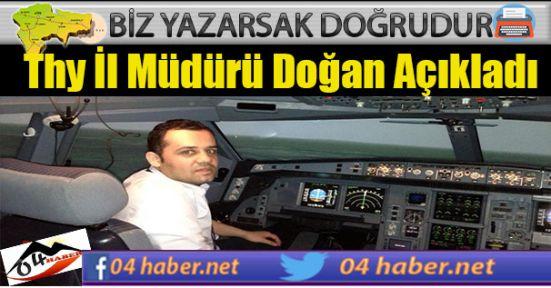 Ağrı İl Müdürü Ankara Uçağını Açıkladı