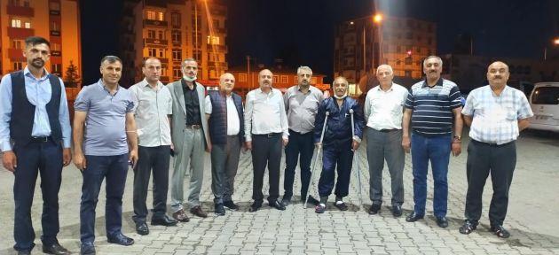 Ağrı Mahalle Muhtarları Ankara Yolunda