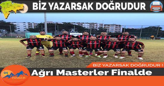 Ağrı Masterler Finalde