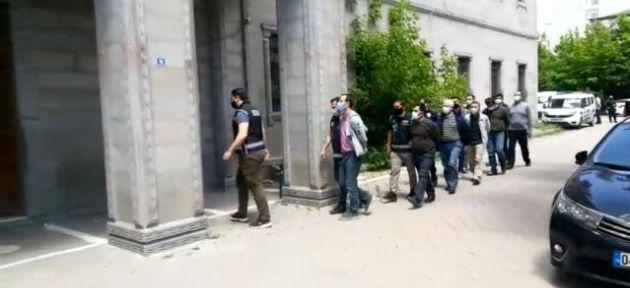 Ağrı Merkezli FETÖ Operasyonunda 25 kişi Gözaltına Alındı