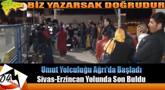 Ağrı'da Başlayan Yolculuk Sivas'ta Son Buldu