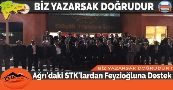 Ağrı'daki STK'lardan Feyzioğluna Destek