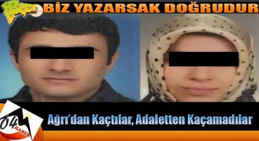 Ağrı'dan Kaçtılar Çerkezköy de Yakalandılar