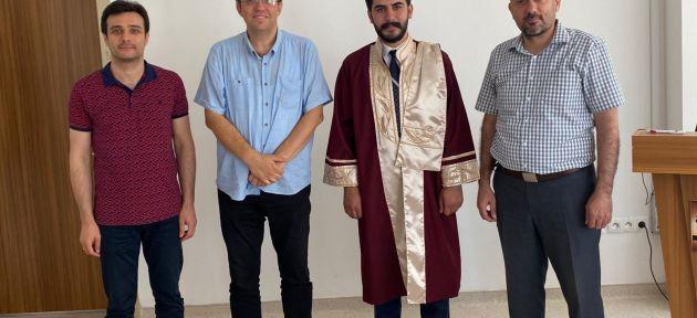 Ağrı'lı Akademisyen Bilim Uzmanı Ünvanını Aldı