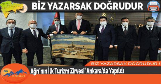 Ağrı'nın İlk Turizm Zirvesi' Ankara'da Yapıldı