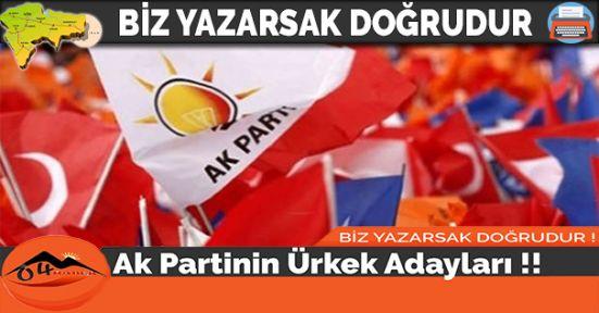 Ak Partinin Ürkek Adayları
