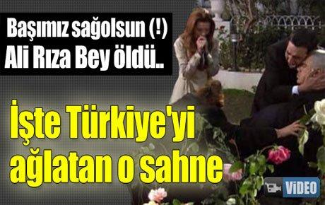 Ali Rıza Bey böyle öldü..
