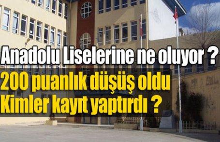 Anadolu Liselerinin 200 puan sırrı !