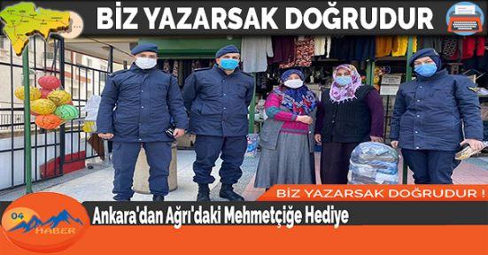 Ankara'dan Ağrı'daki Mehmetçiğe Hediye