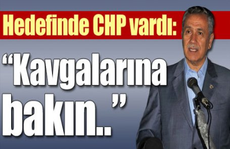 Arınç'tan CHP yorumu