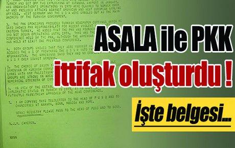 ASALA ile PKK ittifak oluşturdu !