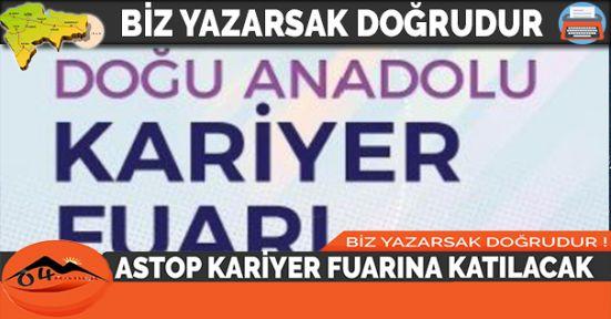 ASTOP KARİYER FUARINA KATILACAK