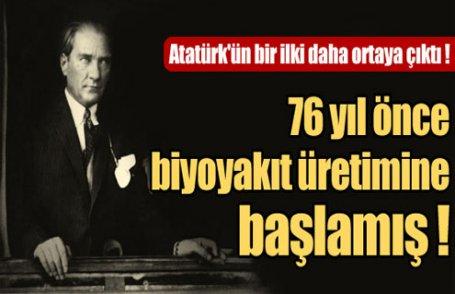 Atatürk'ün bir ilki daha ortaya çıktı !