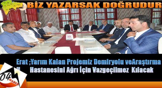 Atso Seçimleri Start Aldı,Mehmet Erat Adaylığı Açıkladı
