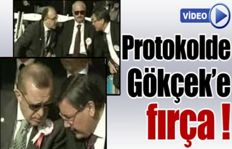 Bakan'dan Gökçek'e fırça (Video)