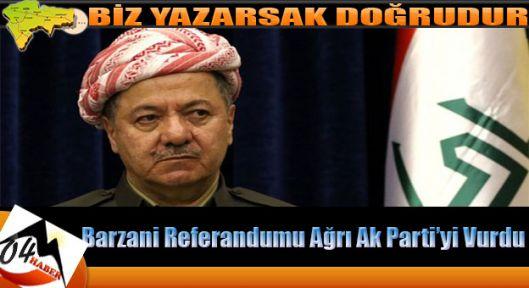 Barzani Referandumu Kongre İptal Ettirdi