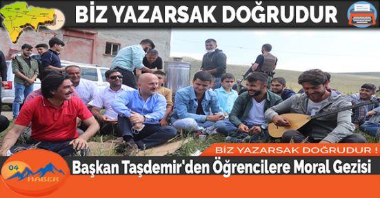 Başkan Taşdemir'den Öğrencilere Moral Gezisi