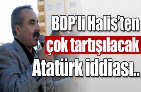 BDP'li Halis'ten tartışılacak sözler
