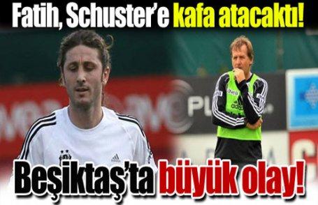 Beşiktaş'ta olay!