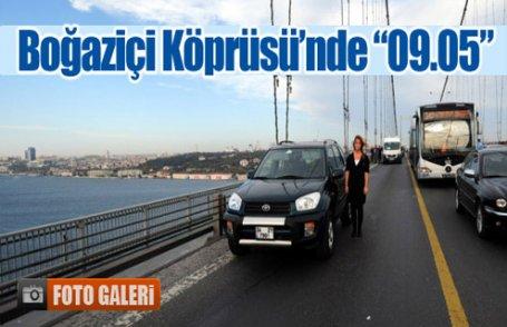 Boğaziçi Köprüsü'nde
