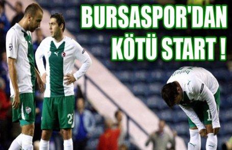 Bursa'ya kupa şoku !