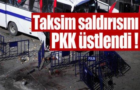 Canlı bombayı PKK üstlendi