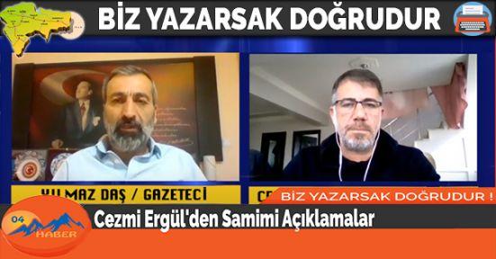 Cezmi Ergül'den Samimi Açıklamalar