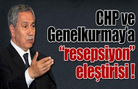 CHP ve Genelkurmay'a sert eleştiri