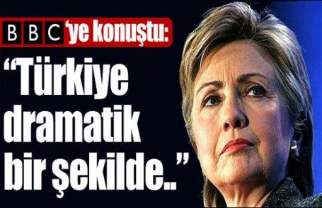 Clinton, BBC'de Türkiye'yi anlattı
