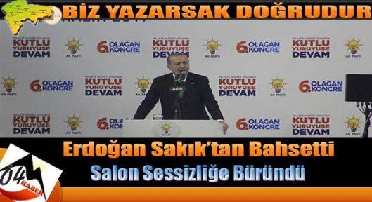 Cumhurbaşkanı Erdoğan Ağrılılara Hitap Etti