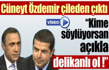 Cüneyt Özdemir, Berham Şimşek'e çıkıştı (Video)