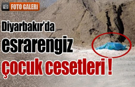Diyarbakır'da esrarengiz cesetler !