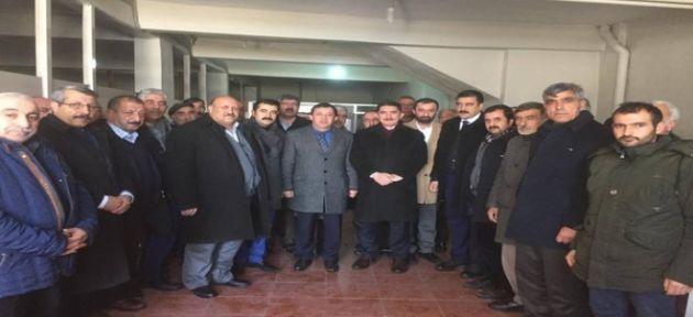 Ekrem Çelebi; Diyadin ve Taşlıçay'da AK Parti Teşkilatlarını Ziyaret Etti