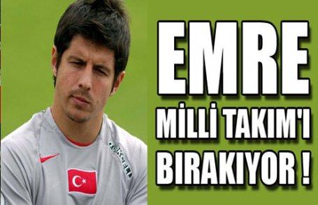 Emre Belözoğlu bırakıyor !
