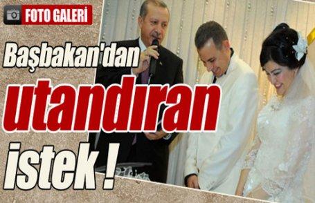 Erdoğan nikah şahidi oldu !