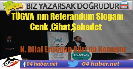 Erdoğan Referandum Sloganını Şaşkınlıkla İzledi