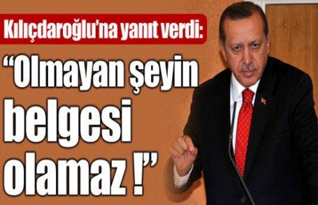 Erdoğan'dan Kılıçdaroğlu'na yanıt