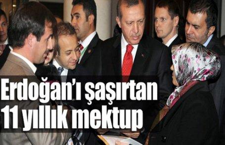 Erdoğan'ı şaşırtan mektup