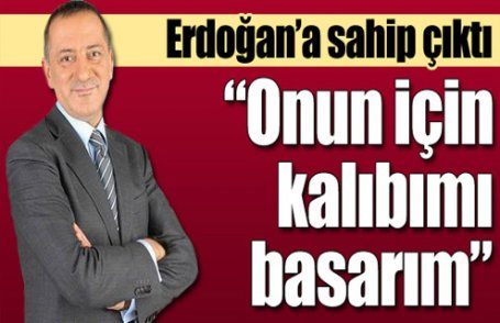 Fatih Altay'lı Erdoğan'a sahip çıktı