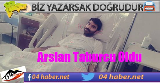 Gazeteci Hüseyin Arslan Taburcu Oldu